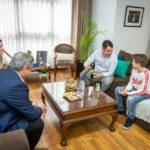 Limpieza de la costanera: Martín Pérez valoró la iniciativa del niño Simón Martino