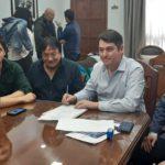 """Pérez señaló que """"firmamos un salario de calidad para los trabajadores municipales"""""""