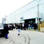 Retiro compulsivo de operarios en fábricas