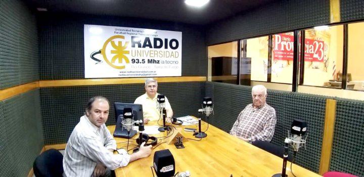 Rolando Reyes, representante de la empresa ROANMAT, concesionario de Las Termas del Río Valdez, visitó los estudios de Radio Universidad (93.5 MHZ) donde fue consultado sobre el conflicto que hace años no logra resolverse y mantiene a la provincia privada de un recurso turístico único.