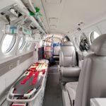 Gobierno garantiza la conectividad aérea con avión sanitario