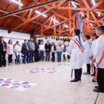 El gobernador Melella encabezó el acto oficial de inicio del ciclo lectivo 2020