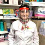 La UTN donó máscaras protectoras a una farmacia local