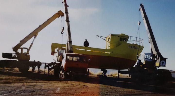 """""""Pacífico me hizo dos barcos centolleros de 30 toneladas cada uno, con seis camarotes cada uno, radares, sonda, y nunca pisaron el agua"""", recordó Gallardo."""