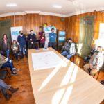 Martín Pérez anunció obras junto a referentes barriales de la Margen Sur