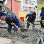 Avanzan los trabajos municipales en el centro y Chacra II