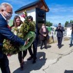 Rindieron homenaje al ex gobernador Ernesto Manuel Campos