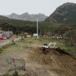 Iniciaron construcción del primer playón deportivo del barrio de Andorra