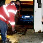 Sujeto destruyó un portón y efectuó disparos en Río Grande