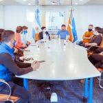 Romero y Cubino dialogaron con representantes de ATE