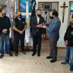 Veteranos de Guerra distinguieron a la Cámara de Comercio de Río Grande