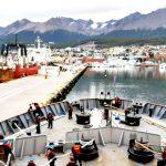 Llegó el Irízar al puerto de Ushuaia poniendo fin a segunda Campaña Antártica