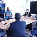 Tolhuin y Ushuaia se reunieron con la Agencia Nacional de Seguridad Vial