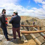 Avanzan las obras para aumentar la presión de agua en Margen Sur