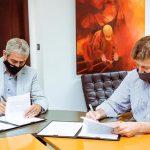Melella firmó la adhesión al Programa Federal Casa Propia