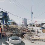 Iniciaron trabajos de red pluvial en la pavimentación de la calle Formosa