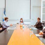 Melella se reunió con la ministra de Seguridad de la Nación
