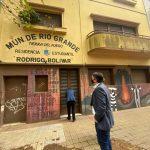 El intendente Martín Pérez anunció la puesta en valor de la Casa Municipal de La Plata