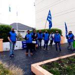 Cooperativa reclama trabajo en obra pública