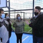 El Municipio de Río Grande inauguró playón deportivo en la Margen Sur