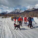 """La Comisión de Auxilio de Ushuaia llamó a un """"gran cambio de conductas, de quienes intentan transitar un sendero en montaña sin experiencia"""""""