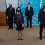 Battaini participó de la firma de un importante convenio sobre tecnología aplicada a la justicia