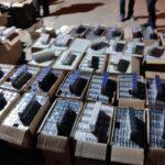 2.900 cartones de cigarrillos fueron encontrados cerca de la frontera con Chile