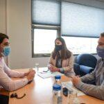 Von der Thusen y Colazo se reunieron con el Secretario de Finanzas