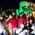 Se habría levantado el paro de camioneros en Magallanes