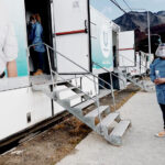 Municipalidad de Ushuaia realizó 115 hisopados en la jornada en el Pipo