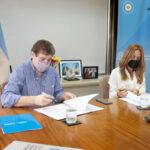Melella acordó la llegada de programas del Consejo Nacional de Coordinación de Políticas Sociales