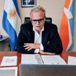 Daniele cargó contra Guillermo Fernández por la deuda de coparticipación