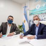 El ministro Meoni autorizó la ampliación de presupuesto para la terminal de Ushuaia