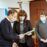 El Gobernador Melella recibió al Ministro de Obras Públicas de Nación Katopodis