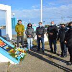 Concejales rindieron homenaje a los caídos al cumplirse 39 años de su hundimiento