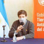 Gustavo Melella y Alicia Kirchner pedirán a Nación salir de la zona de riesgo