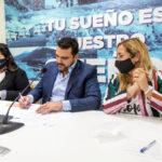 El intendente Vuoto firmó el acta de intención con SITRACYT