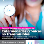 Impulsarán una campaña de prevención y detección de enfermedades crónicas no transmisibles