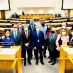 Pérez y Vuoto valoraron el apoyo internacional en la ONU