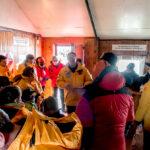 Trentino valoró el compromiso del personal antártico