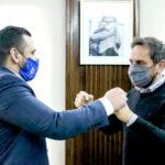 Vuoto se reunió con el Ministro de Ambiente de la Nación