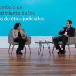 El foro para debatir la conformación de un Código de Ética Judicial para todo el país fue impulsado por la Doctora María del Cármen Battaini