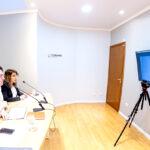 El intendente Martín Pérez y el ministro Gabriel Katopodis mantuvieron una reunión de trabajo