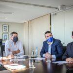 Vuoto acompañó al ministro Lammens en el importante anuncio para Ushuaia