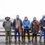 Cabandié y Vuoto anunciaron obras en el Parque Nacional de Tierra del Fuego