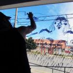 Artistas intervendrán vidrieras de la ciudad de Río Grande
