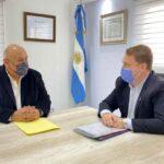 Von der Thusen y Campos quieren potenciar el desarrollo de las Huertas Comunitarias