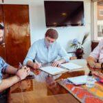 El gobernador Gustavo Melella firmó nuevo convenio con el ENOHSA