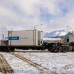Gobierno concretó el arribo del último equipo de la fibra óptica