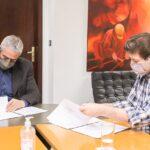 Melella acordó con Nación la construcción de 600 nuevas viviendas para la provincia